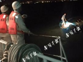 渔船油管爆管熄火!北海两男子冒着暴雨出海被困