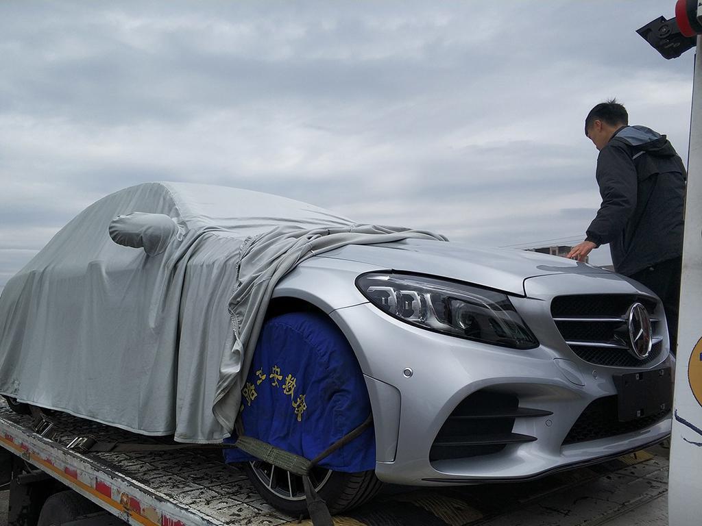 沿用海外版设计 国产新款奔驰C级提前曝光