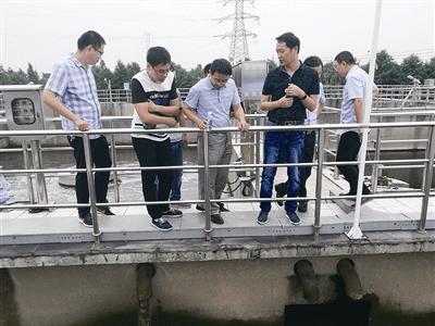 """靖江邀请专家对污水处理厂进行全面""""体检"""""""