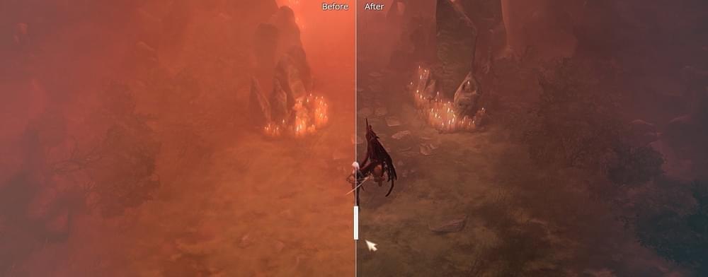 不再瞎眼!玩家改善暗黑3新地图红色烟雾效果