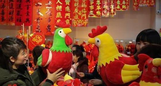春节临近 新春饰品开始热销