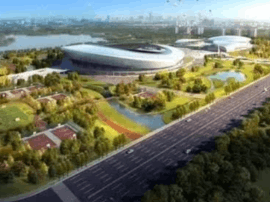 18个亿的泰州市体育公园项目定了,2020年底建成!