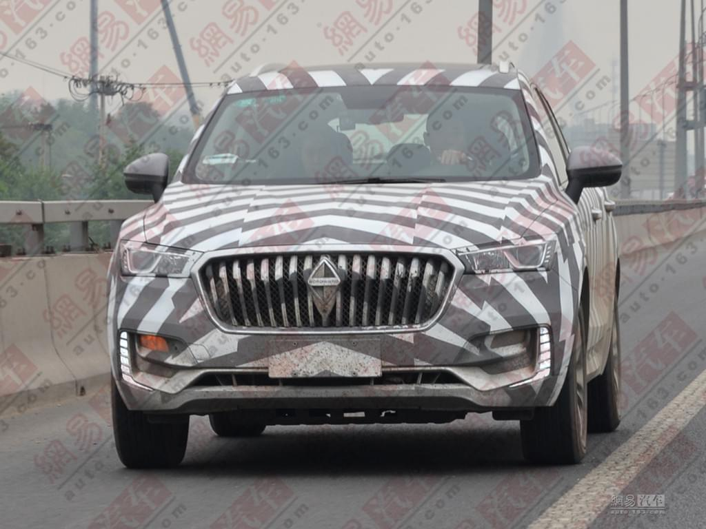 价格对标缤智?宝沃BX5 1.4T车型7月上市