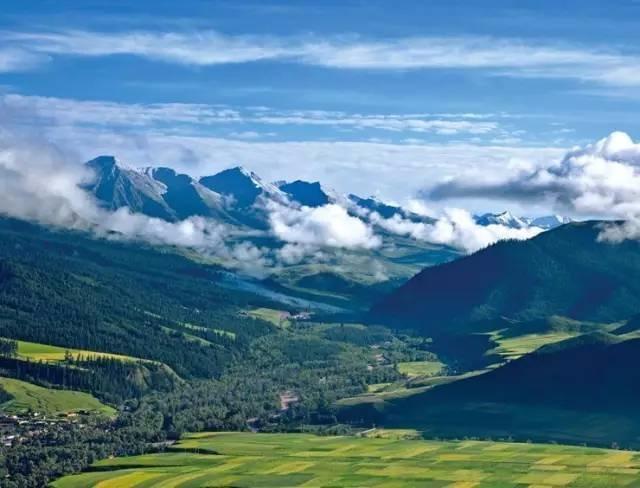 堪比西藏,这个地方的夏季美如仙境,错过又要再等一年