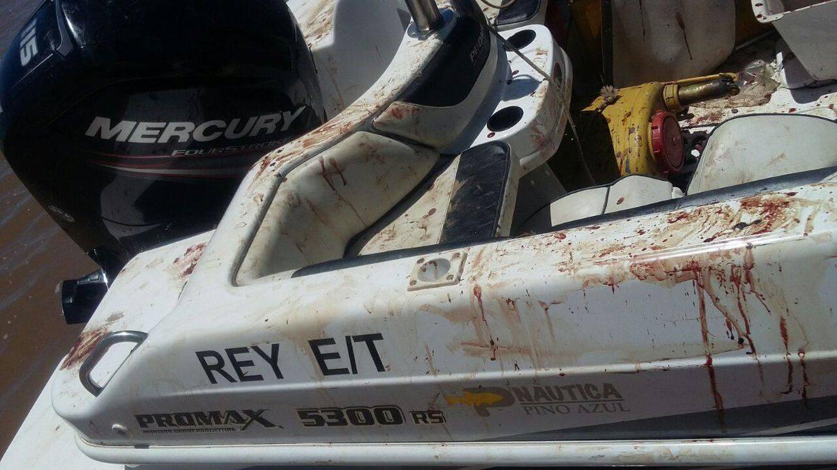 梅西哥哥非法持枪被逮捕 开船遭意外满船是血迹