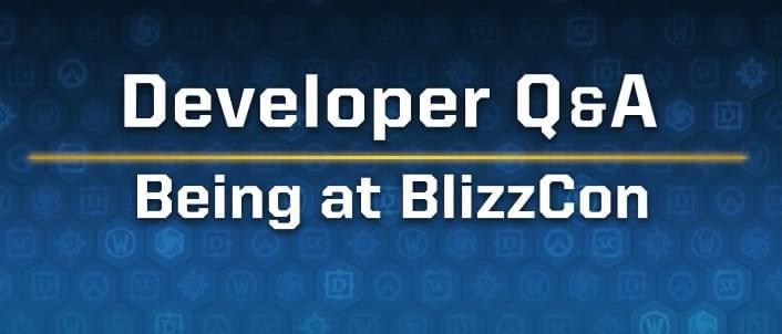 暴雪开发者趣味访谈:关于暴雪嘉年华的经历