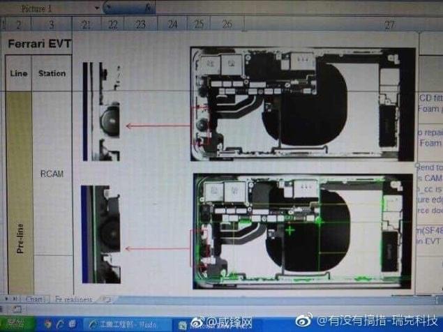 告别充电线?X光片显示iPhone8或支持无线充电