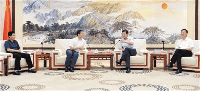 郑人豪:进一步深化拓展合作 做大做强纸业产业链