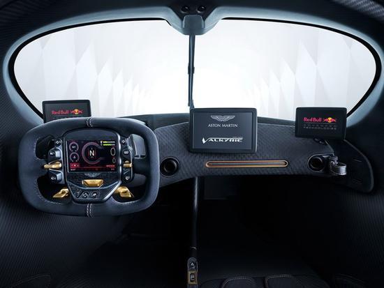 版权声明:本文版权为网易汽车所有,转载请注明出处。 网易汽车3月6日日内瓦车展现场报道 阿斯顿马丁发布了Valkyrie AMR Pro车型,这款车仅可在赛道驾驶,搭载混动系统最大功率达到1115马力,极速达到了362km/h。据悉,该车限量生产25辆,预计将于2020年开始交付,但目前已全部售罄。  阿斯顿马丁Valkyrie AMR Pro在Valkyrie的基础上进一步减重,车身质量仅为1000公斤。同时该车还专门优化了空气动力学结构,最明显的改变就是加宽了车身,并采用更大的前后扰流组件,能够产生
