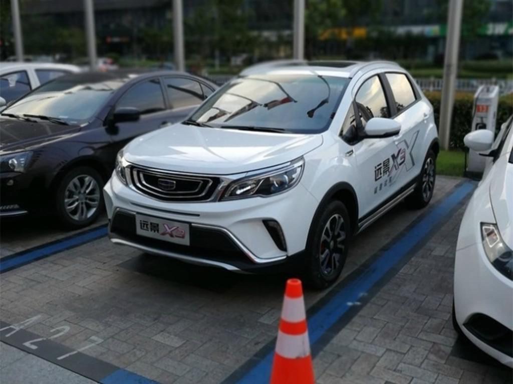 小型SUV/三季度上市 吉利远景X3实车曝光