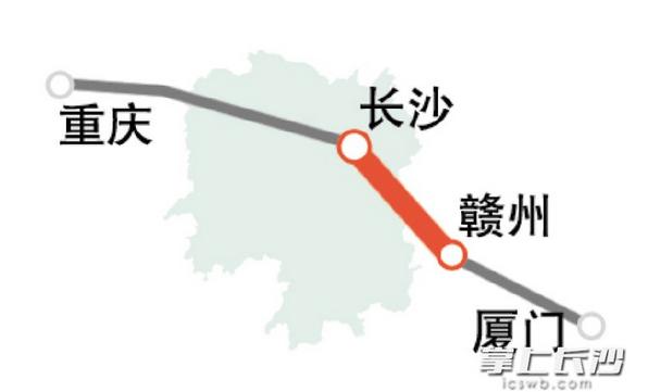 @长沙人 长沙至厦门将修建高铁啦!