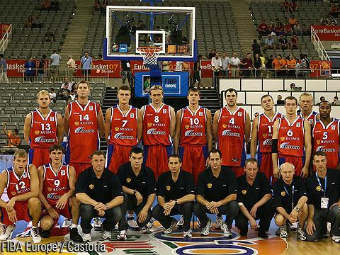 俄罗斯男篮2007年走上巅峰