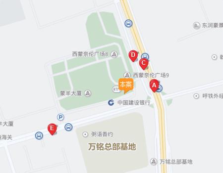 泽信·青城周边主要道路交通