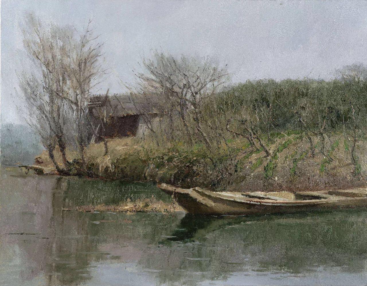芝麻开门——汪文斌的油画创作之路及作品赏析
