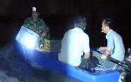 长江泰兴段现电捕鱼 水警开展大追捕