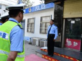 夏县交警开展城区道路交通秩序整治行动