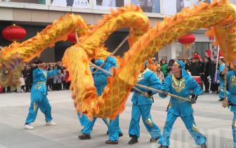 邯郸:新春文化庙会大年初一热闹开幕