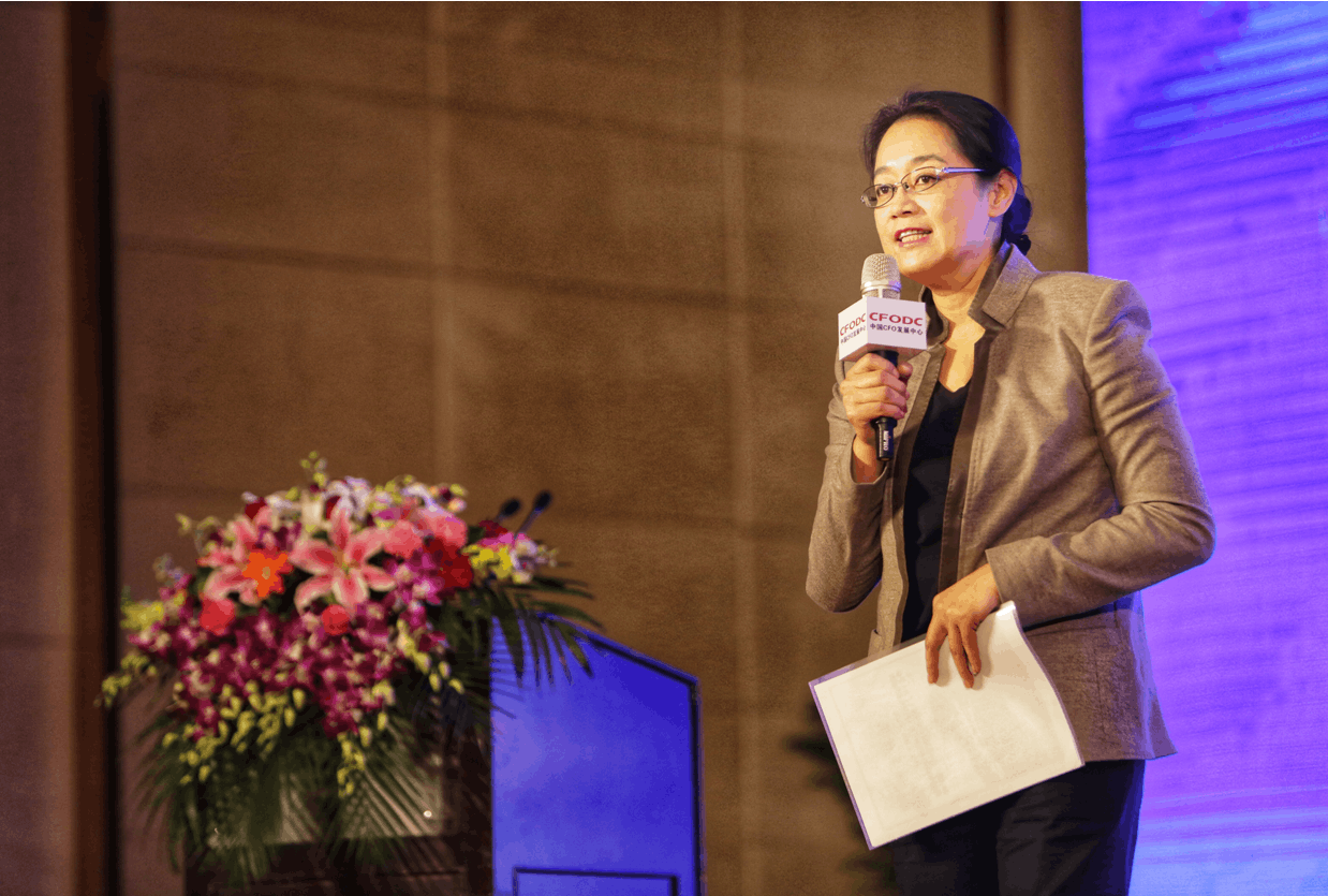 前百度CFO李昕晢:CFO最重要的是决策担当