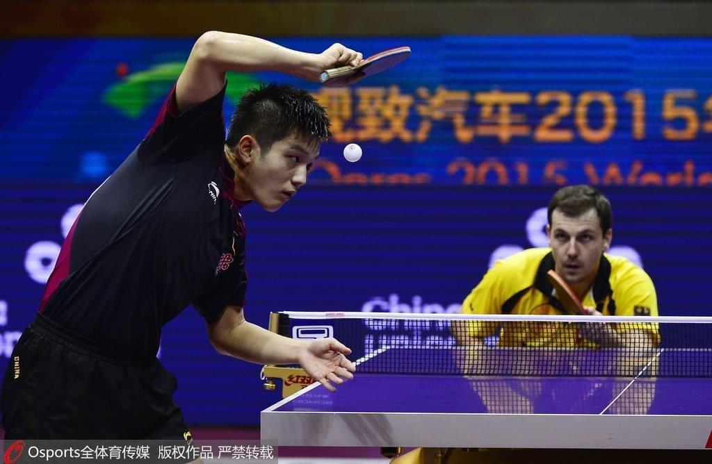 2020年,中国队的主力阵容将变为樊振东领先,波尔也会走东京。