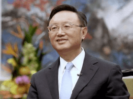 杨洁篪会见美国总统高级顾问 为特朗普访华做准备