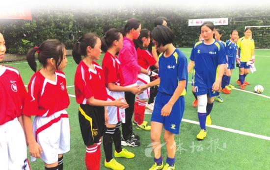 建德这支山区小学女子足球队不简单