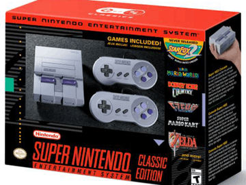 SNES计划推出后就停产 NES将于计划明年推出