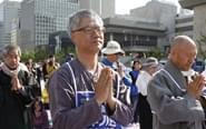 韩国民众绝食抗议部署萨德