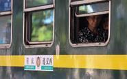 """渝黔铁路线上的""""绿皮车"""""""