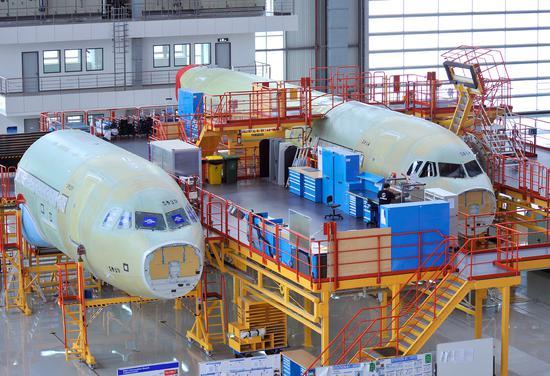 空客天津A320总装线将增产至每月6架
