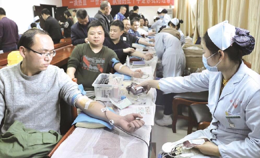 点赞!沙市区组织区直机关单位开展无偿献血活动