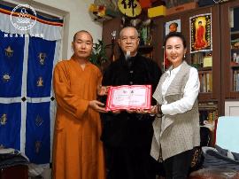网易山西佛学频道聘请中国宗教协会副秘书长怀善法师为佛学顾问