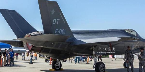 中国军迷近拍美军F-35隐身战机