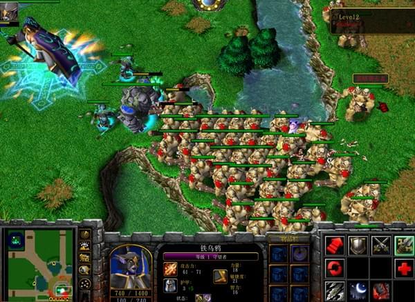 魔兽争霸RPG地图评测:守护雅典娜经典怀旧版