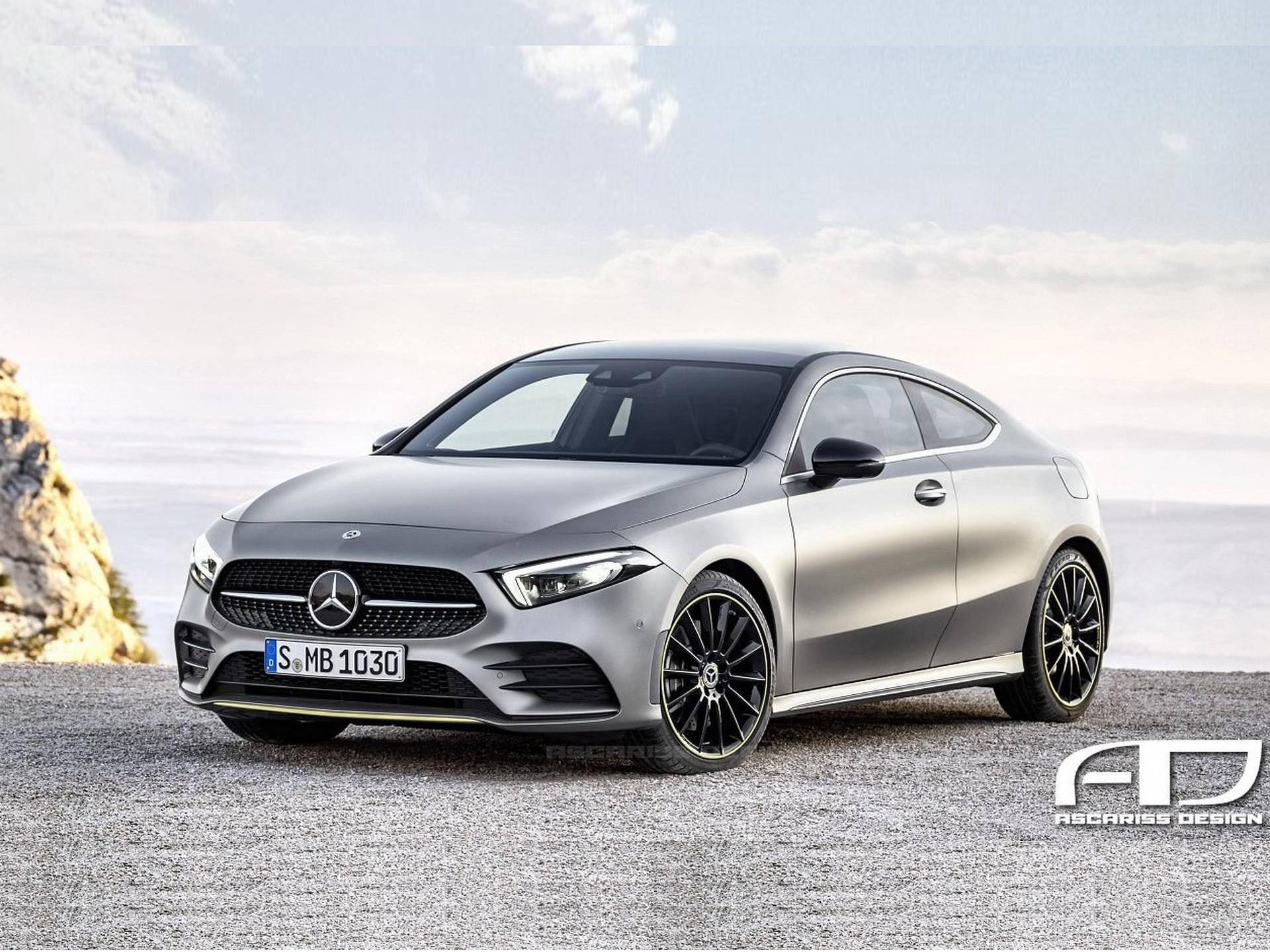 新一代奔驰A级高性能车型假想图曝光