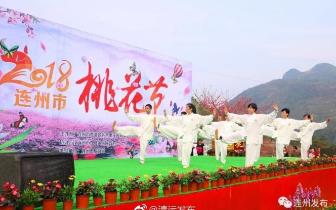 2018年连州桃花节开幕