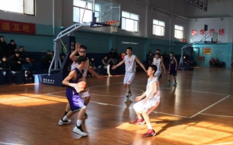 石家庄市获省运会男篮乙组预赛第一名
