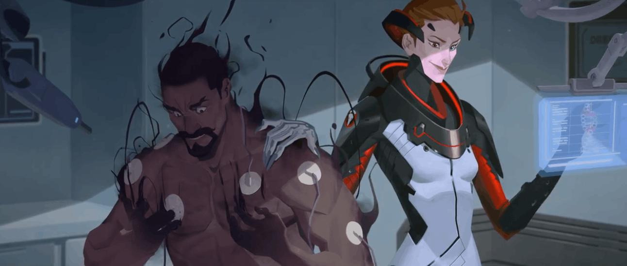 守望先锋新英雄莫伊拉——终于有一位黑暗科学家了