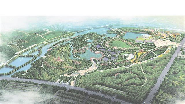 园博园主展馆基础建设已基本完工 附属区域开工