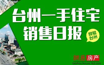 2018年3月28日台州市一手住宅成交499套
