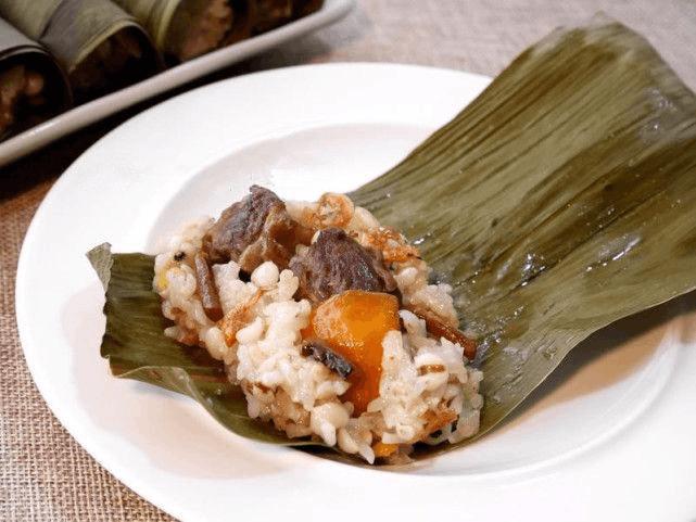 传统粽子吃腻了 教你做改良牛肉粽