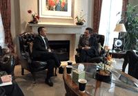 金吉列留学董事拜访墨尔本总领事馆教育组领事