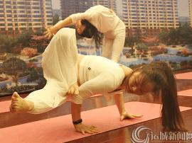 2017山西省首届瑜伽达人赛在运举行海选赛