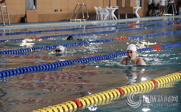 国网运城供电公司举办首届职工游泳比赛