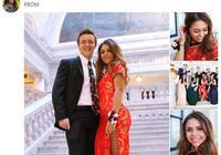 美国女生穿旗袍赴毕业舞会 外界反应让她始料不及