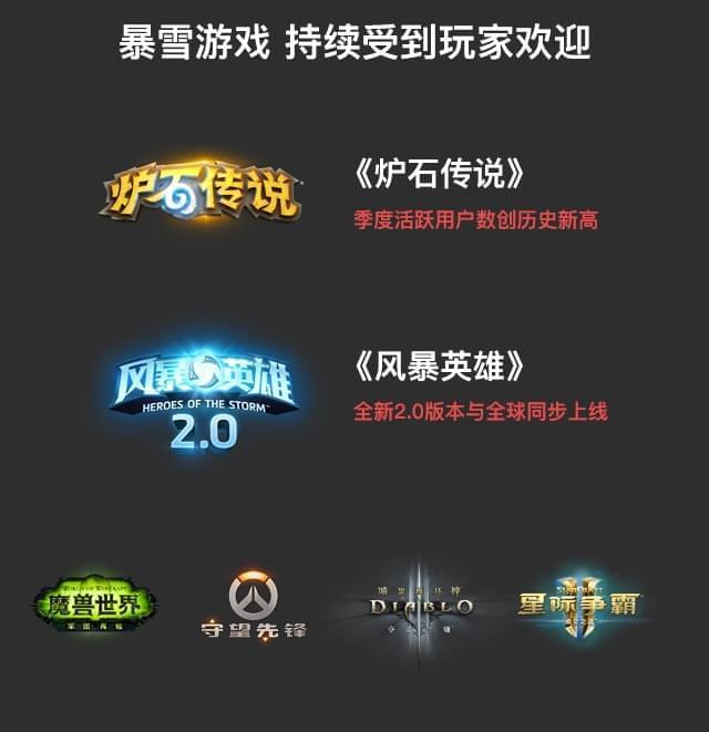 网易Q1财报公布:《炉石传说》活跃用户数再创新高