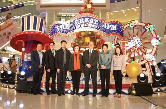 北京apm圣诞亮灯——超级IP乐一通摩登狂想夜启动