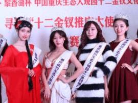 """重庆生态大观园""""十二金钗""""亮相解放碑"""