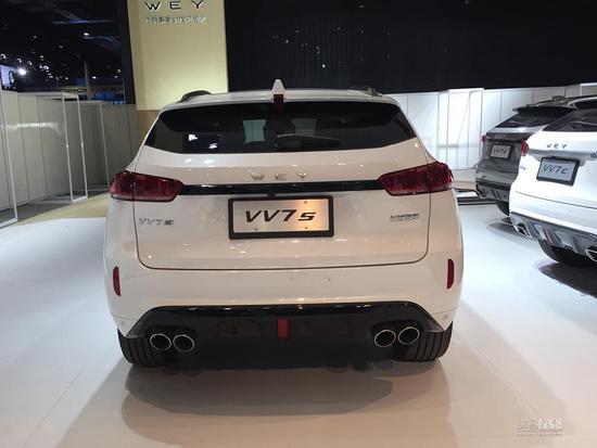 2017上海车展探馆:WEY首款车型VV7s曝光
