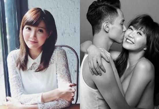 24岁香港女歌手吴若希和男友
