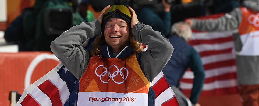 自由式滑雪男子U型场地 美国名将逆转卫冕
